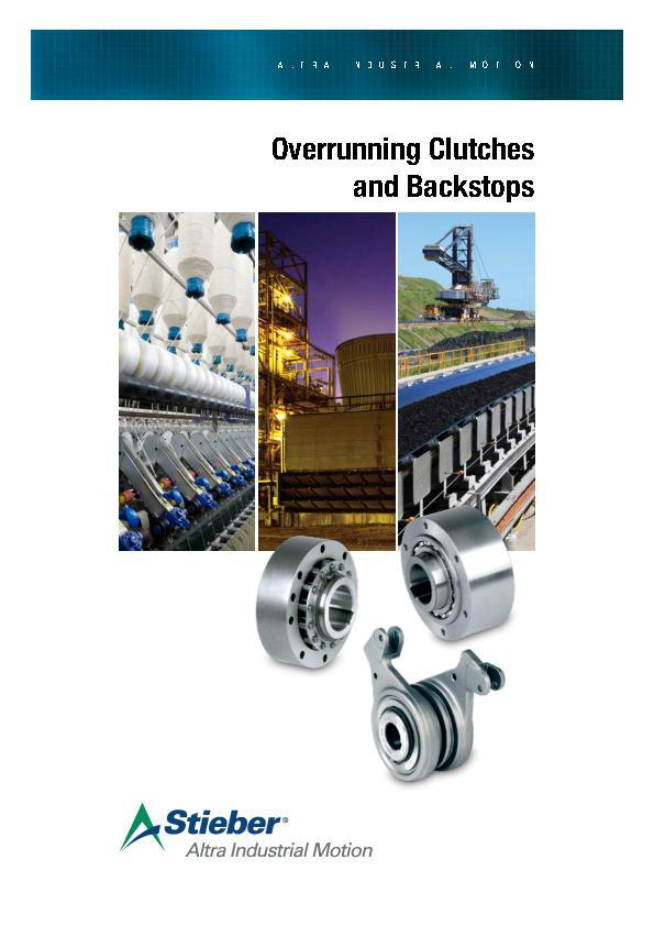 bd0766c06 Overrunning Clutches and Backstops